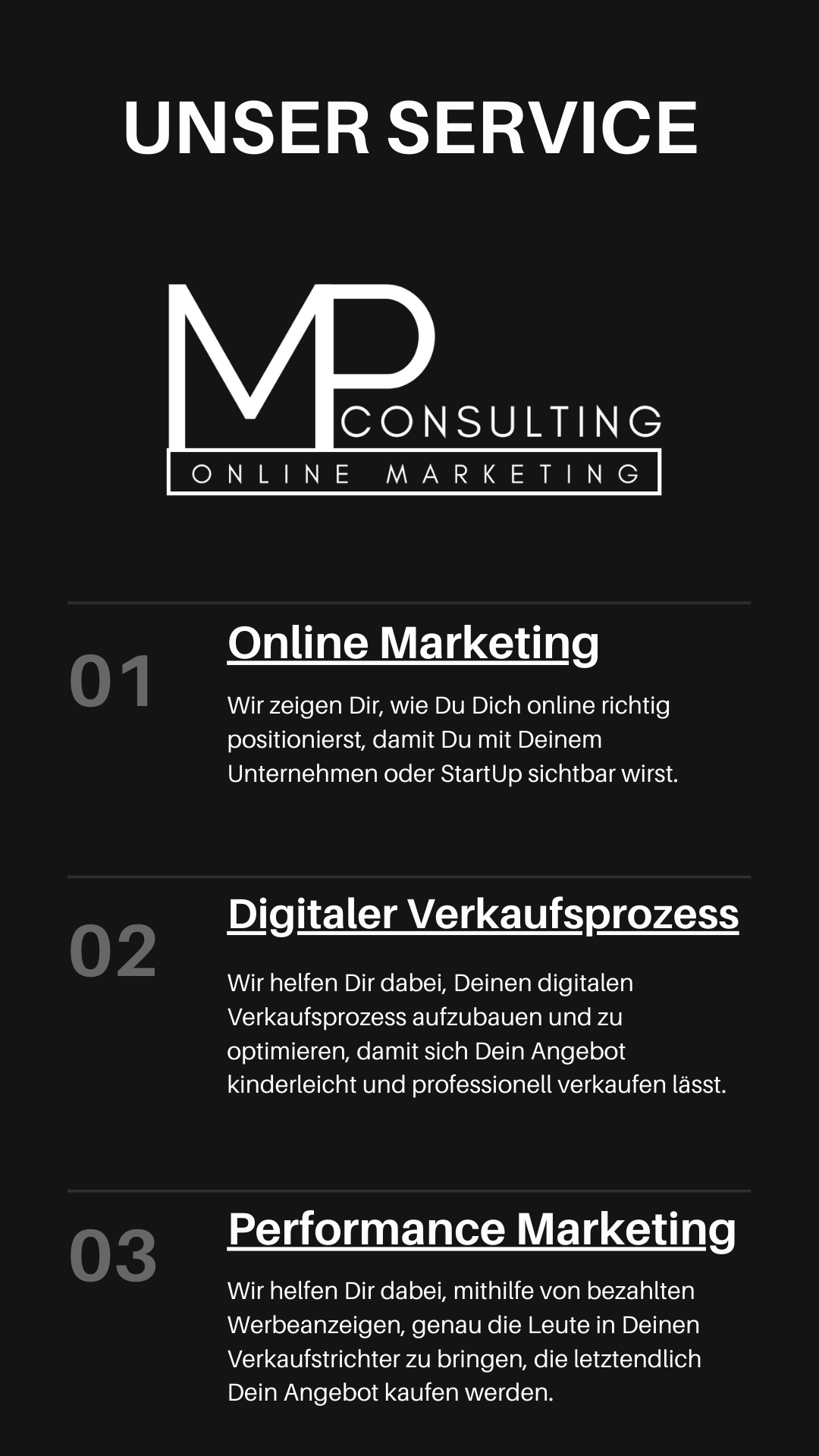 MP Online Consulting Service